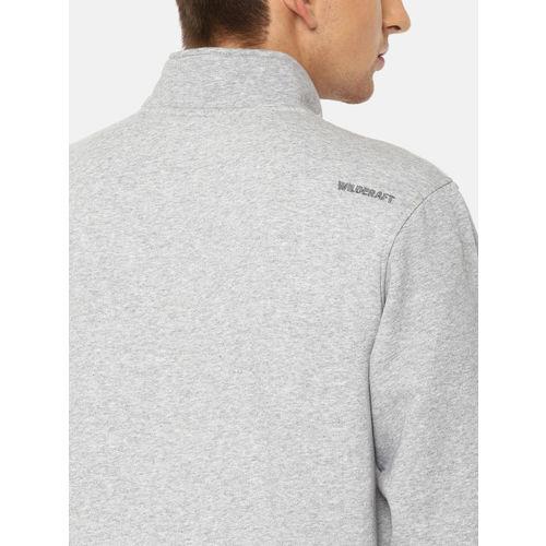 Wildcraft Men Grey Printed Rock Sweatshirt