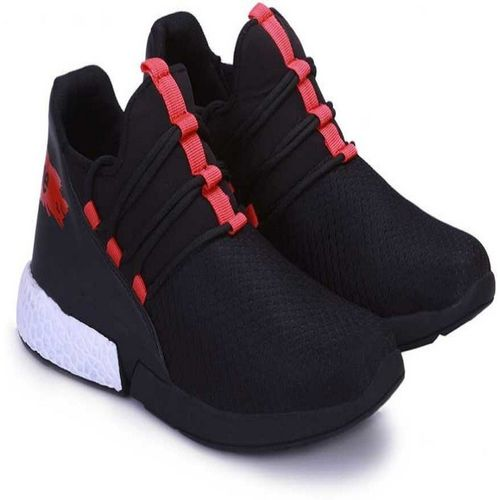 ZOOMCLUB Men's Running Shoes Fashion Sneakers Mesh Casual Athletic Lightweight Casuals For Men For Men(Black)