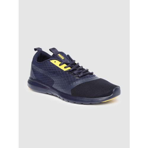 Puma Men Navy Blue Vigor Prime Idp Running Shoes