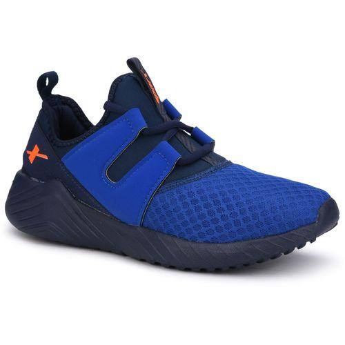 Sparx Men SM-480 Royal Blue Neon Orange Running Shoes For Men(Blue, Orange)
