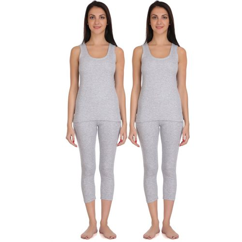Selfcare New Combination Of Colours Women Top - Pyjama Set Thermal
