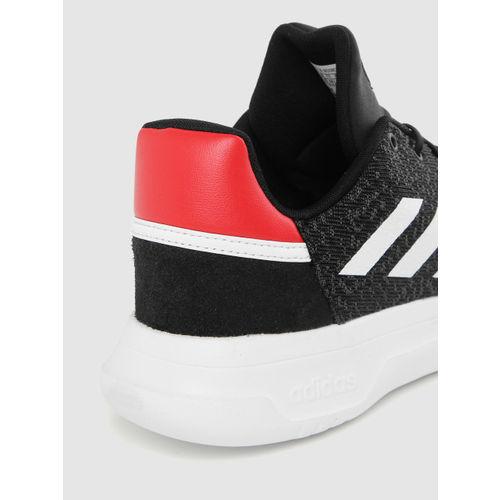 ADIDAS Men Black Fusion Flow Basketball Shoes