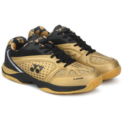 Yonex AERO COMFORT Badminton Shoes For Men(Gold)