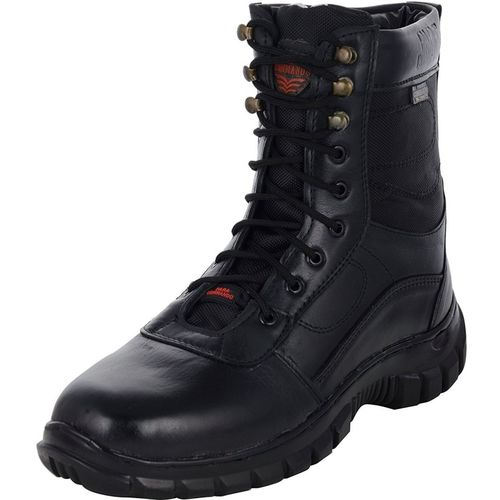 Para Commando Combat Army Boot For Men Boots For Men(Black)