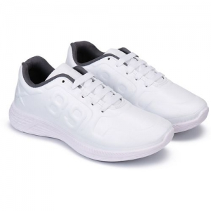 Oricum Sports Shoes, Running Shoes, Lace Up, Rexine Upper, First Time In India Extra Light Weight and Comportable Shoes for Men (3170) Outdoors For Men(White)