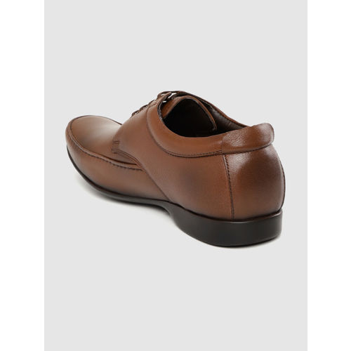 Red Chief Redchief Men Brown Solid Formal Leather Derbys