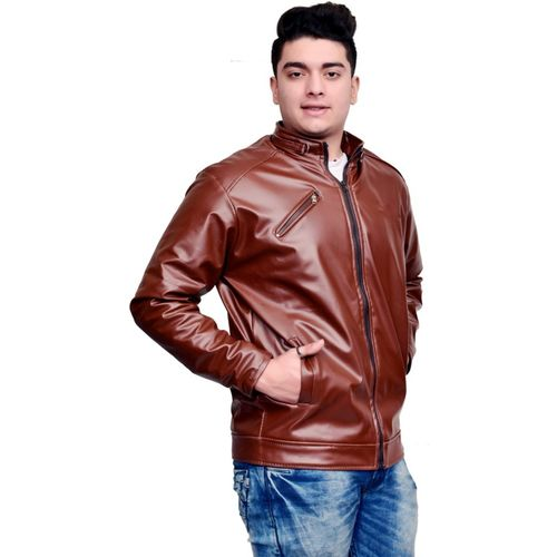 ANUPAM Full Sleeve Solid Men Jacket