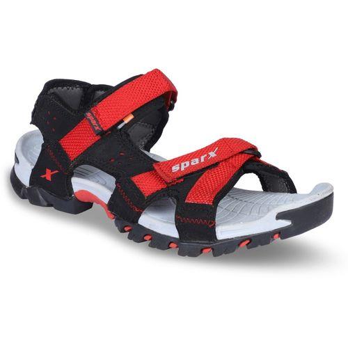 Sparx SparMenSS447FloaterSandal Men Black, Red Sandals
