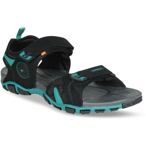 Sparx SS-491 Men Black, Blue Sports Sandals