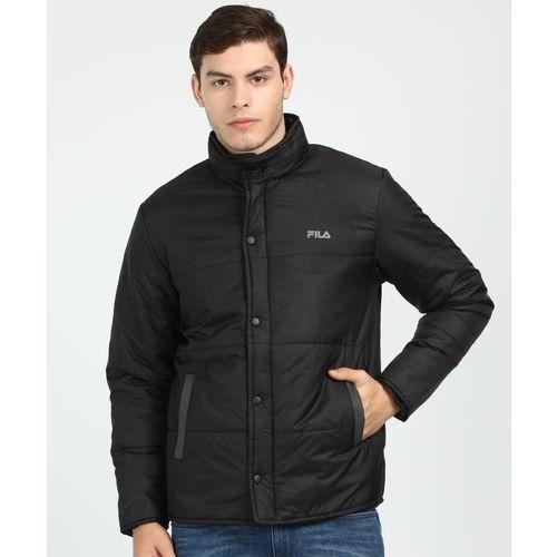 Fila Full Sleeve Solid Men Jacket
