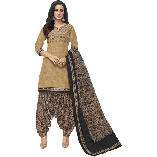 Miraan Cotton Printed Salwar Suit Material(Unstitched)