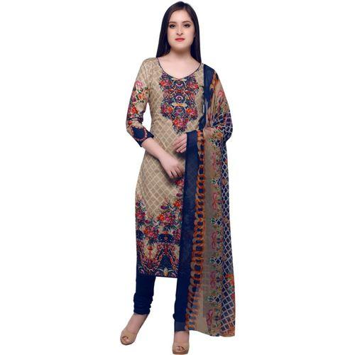 Swaron Cotton Floral Print, Printed Salwar Suit Material(Unstitched)