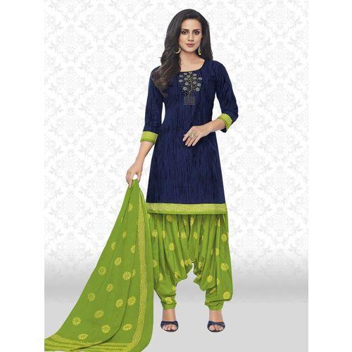 Divastri Cotton Printed Salwar Suit Material(Unstitched)