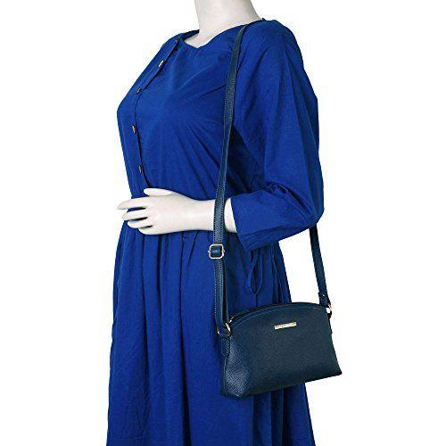 Lapis O Lupo Women's Sling Bag (Llsl0026Bl, Blue)