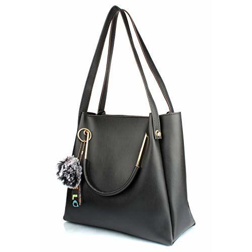 Mammon Women's stylish Handbags (LR-bib-blk)