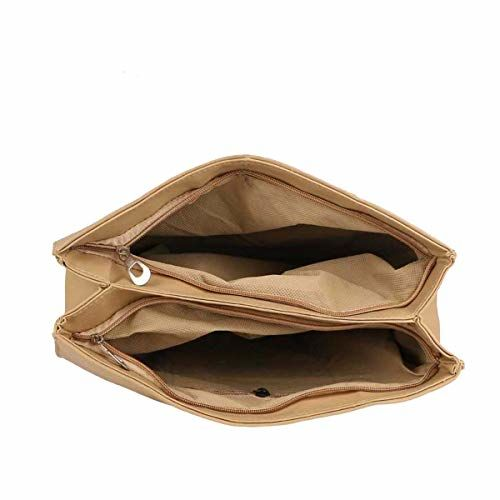 JSPM Girl's & Women's Handbag Tie Cream (SP-281)