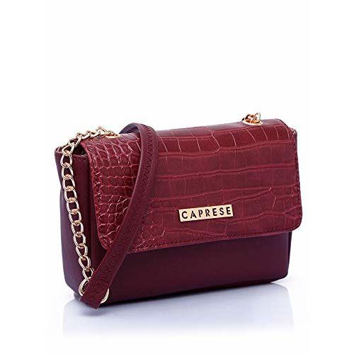 Caprese Carolina Women's Sling Bag (Burgundy)