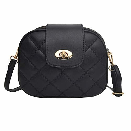 Mac Lawrence Fashion 3 Compartment Women's Sling Bag (Black)