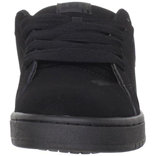 DC Men's Court Graffik M Black Leather Sneakers-5 UK/India (38 EU) (886434908835)