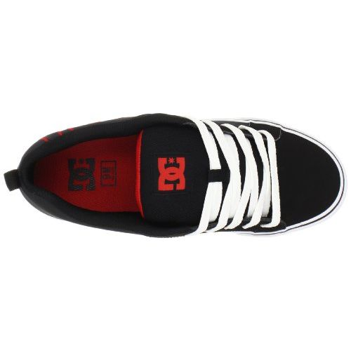 DC Men's Court Vulc M Leather Sneakers