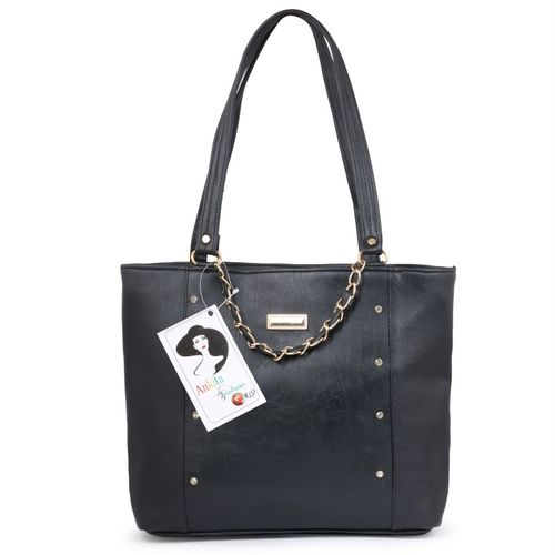 Ankita Fashion World Women Black Tote