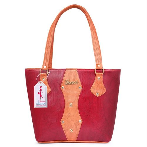 Ritupal Collection Women Maroon, Pink Tote