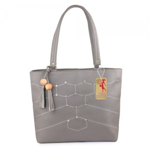 Ritupal Collection Women Grey Tote