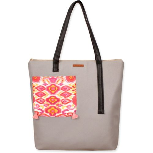 Crafthues Women Grey Tote