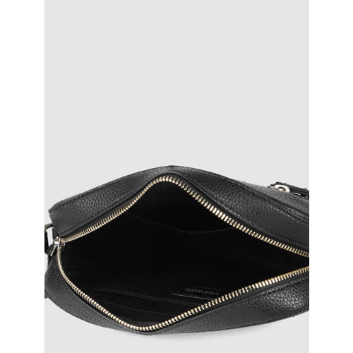 Steve Madden Black Solid Sling Bag