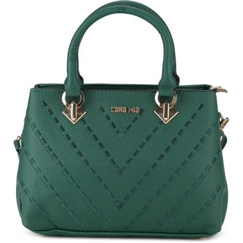 CARA MIA Women Green Tote