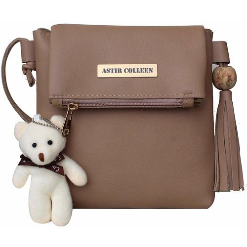ASTIR COLLEEN Beige Sling Bag