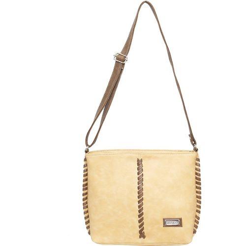 Harvest HER CHOICE Brown, Beige Sling Bag