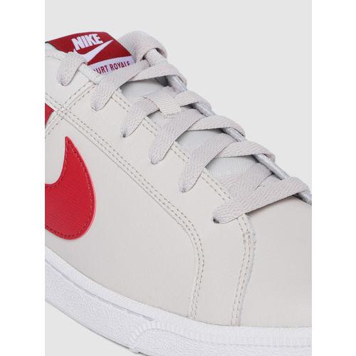 Nike Men Beige COURT ROYALE TAB Sneakers