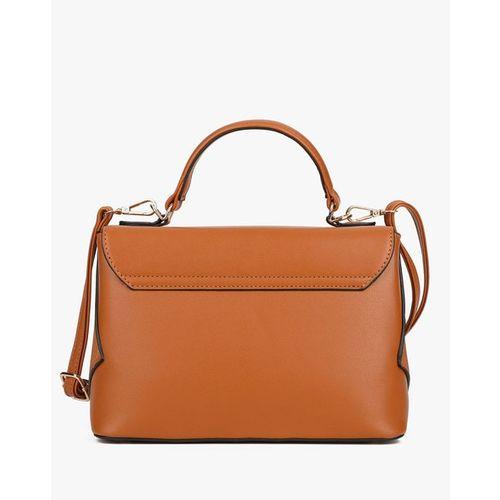 E2O Printed Sling Bag with Detachable Strap