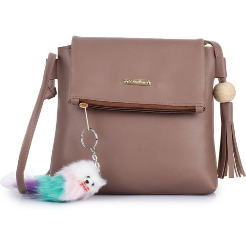 Vogue Street Brown Sling Bag