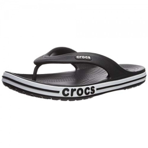 Crocs Black Croslite Bayaband FlipFlop