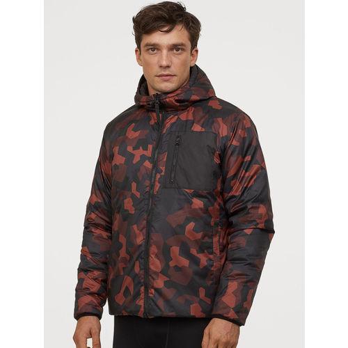 H&M Men Black Reversible Outdoor Jacket