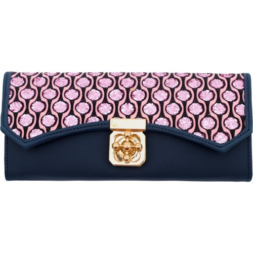 RAAQ Casual, Party, Formal, Sports Blue, Pink Clutch