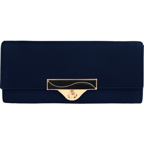 RAAQ Casual, Party, Formal, Sports Blue Clutch