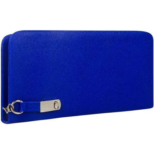 SALEBOX Sports, Party, Formal, Casual Blue Clutch