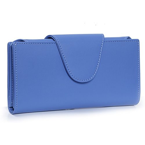 Just Click Casual Blue Clutch