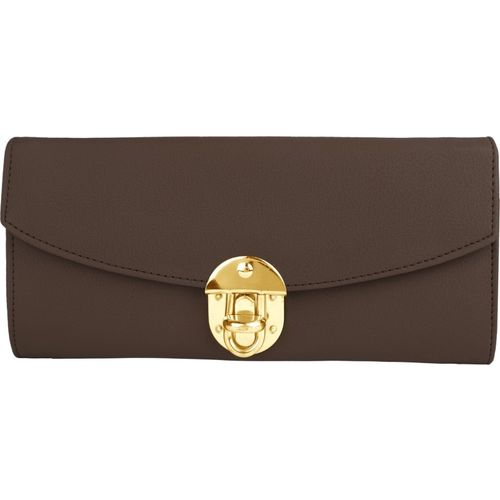 RAAQ Casual, Party, Formal, Sports Brown Clutch