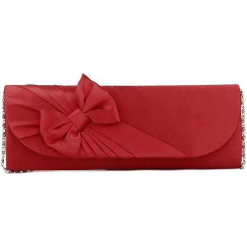 Chemistry Party Red Clutch
