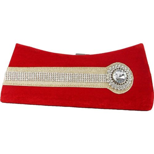 Kleio Casual Red Clutch