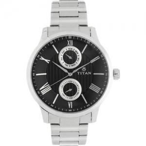 Titan 90100SM01 Analog Watch - For Men