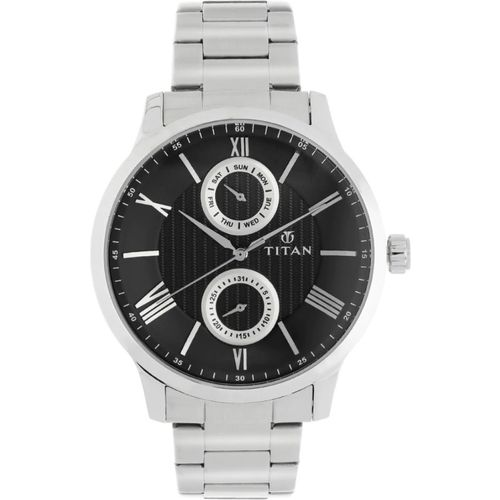 Titan 90100SM01 Analog Watch - For Men