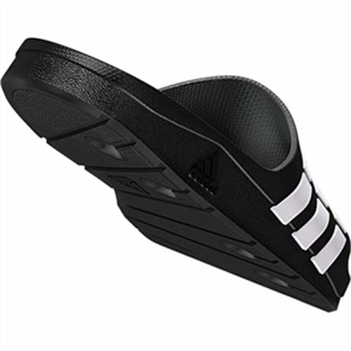 adidas Men's Duramo Slide Black and White Flip-Flops and House Slippers - 8 UK/India (42 EU)