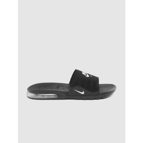 Nike Men Black Printed Sliders