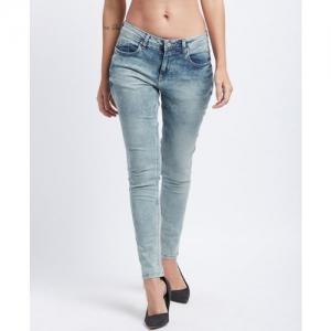 Lee Cooper by fbb Slim Women Grey Jeans