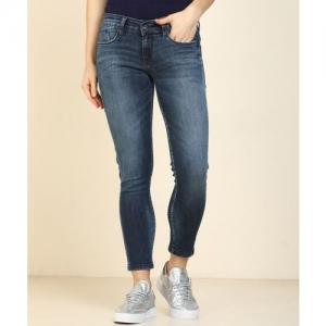 Pepe Jeans Super Skinny Women Blue Jeans